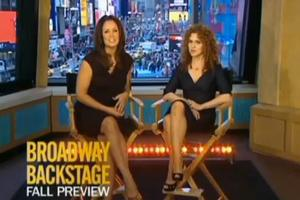 TV: Peters Hosts ABC's Backstage Bway Fall Preview!