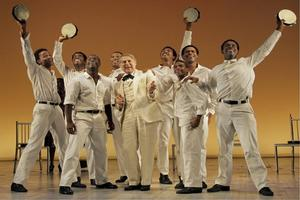 BWW TV: THE SCOTTSBORO BOYS on Broadway!