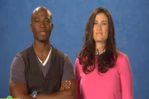 STAGE TUBE: Idina & Taye Appear on SESAME STREET