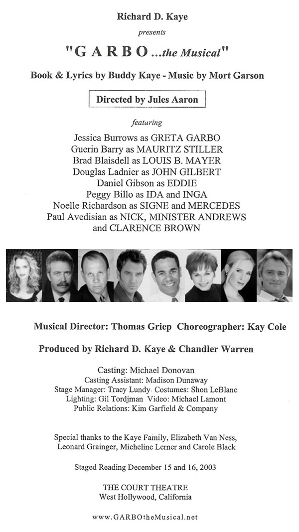 staged reading - the court theatre